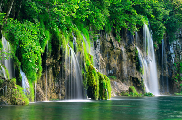 Nationaal Park Plitvice Meren in Kroatie