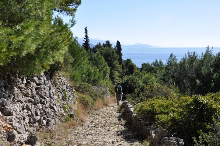 wandelen eilanden Kroatie