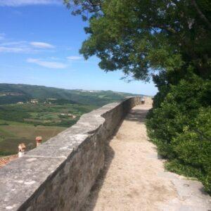 Motovun stadsmuur