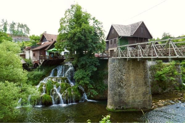 Watervallen van Rastoke, Lika