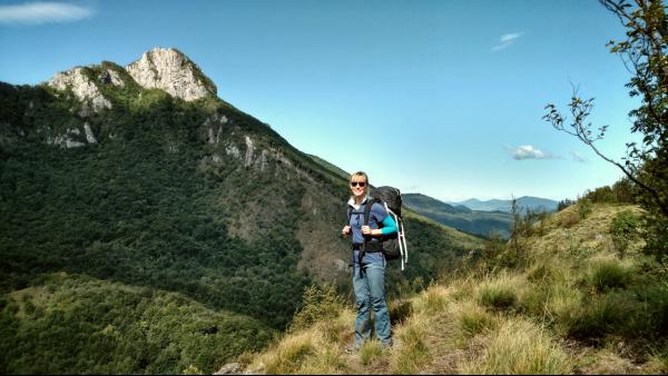 Klek berg in Kroatie