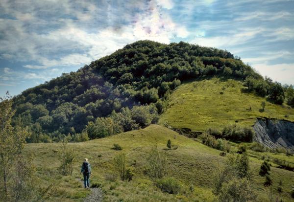 Wandelen op de berg Klek in Kroatie