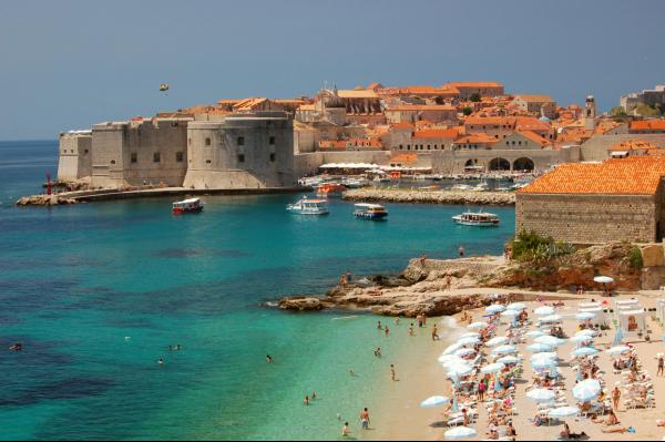 Zon, zee, strand en Dubrovnik