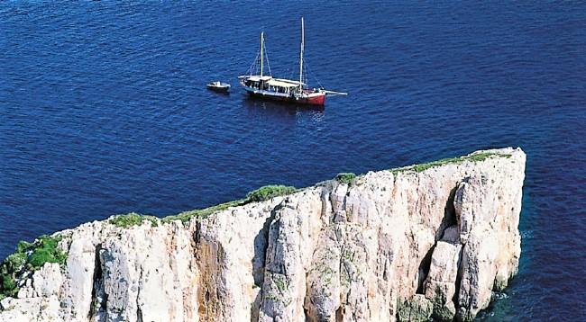 Kornati met boot
