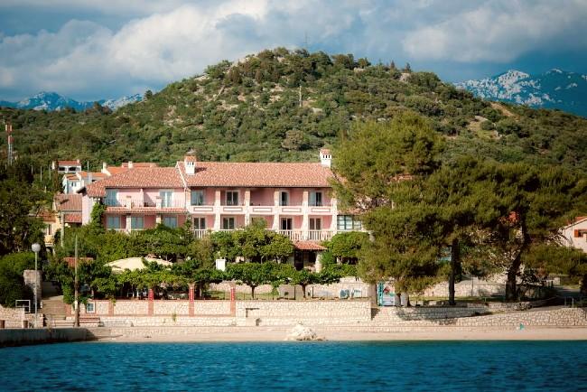 strandhotel Kroatie Rab