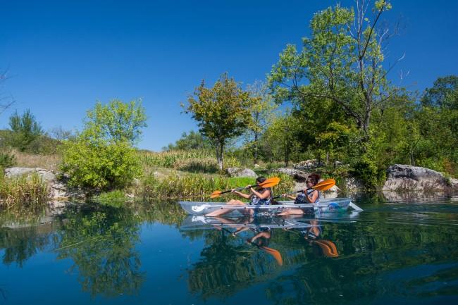kayak Lika Kroatie