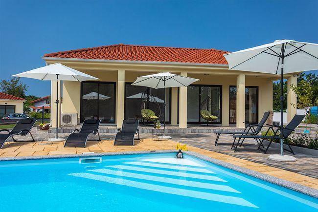 accommodatie met zwembad Kroatie