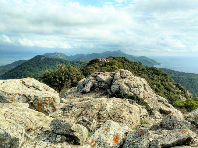 Mljet bergen