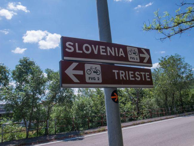 fietsen Sloveense kust
