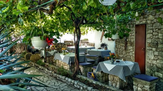 restaurants Kroatie