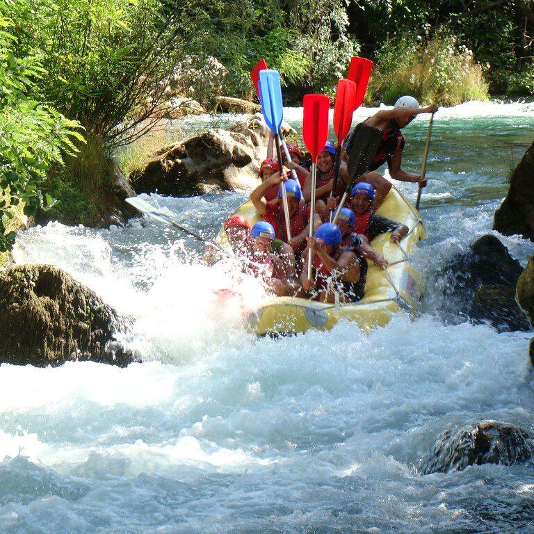 actieve rondreis rafting